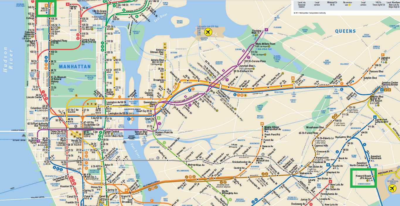 Airport Transfer Litas New York Apartments - Check off map